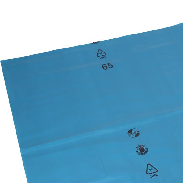 DEISS Premium® Abfallsäcke blau 150 Liter ( 200 Stück )