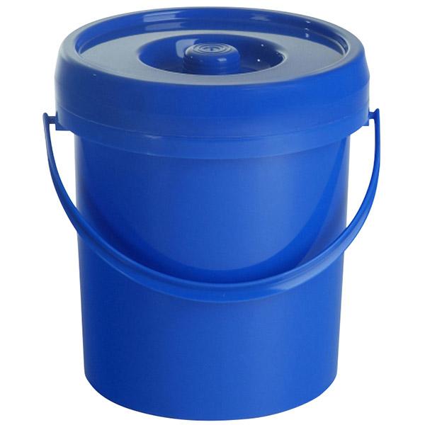 Windeleimer 12 Liter blau