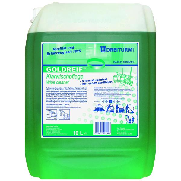 Dreiturm Goldreif® Klarwischpflege 10 Liter