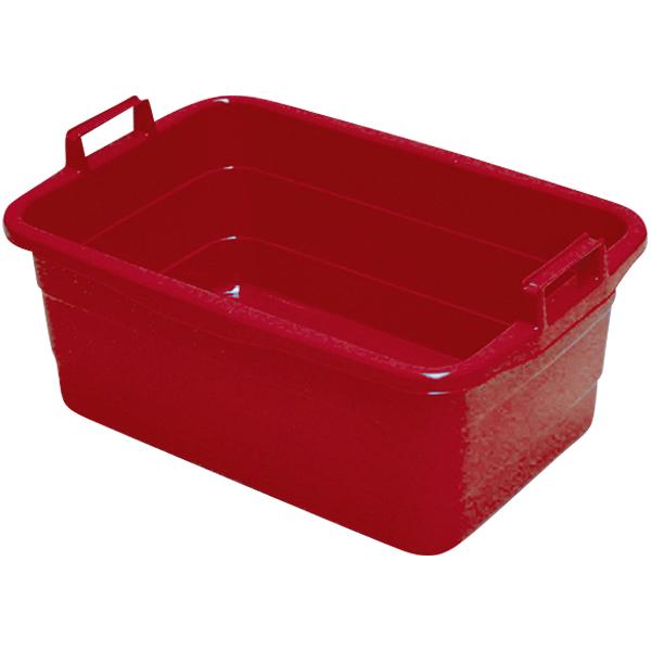Wanne eckig 45 Liter rot