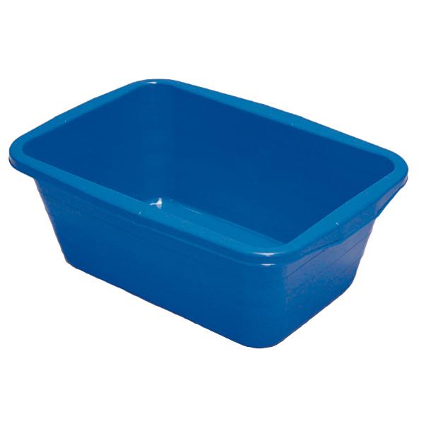 Wanne eckig 52 Liter blau