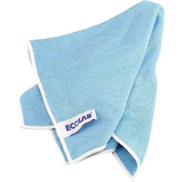 ECOLAB Floordress Polifix Microclin Microfasertuch blau