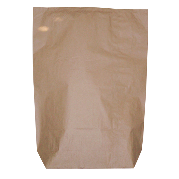 Papiersack DEISS unbedruckt  120 L, braun