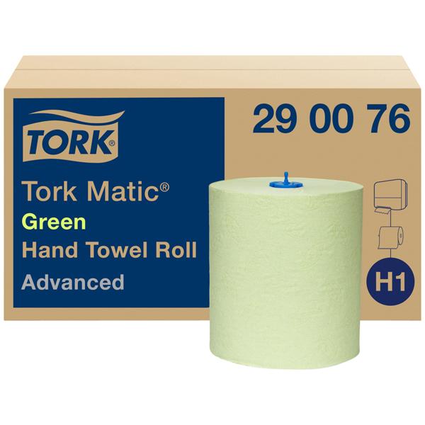 Tork Matic® grünes Rollenhandtuch