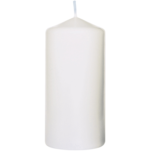 Duni Stumpenkerze 10 x 5 cm weiß