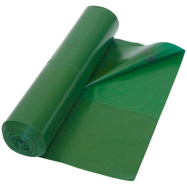Müllbeutel aus HDPE DEISS UNIVERSAL 65 L, grün