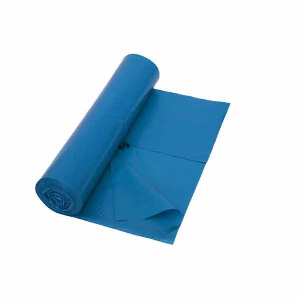 Müllbeutel aus HDPE DEISS UNIVERSAL 65 L, blau