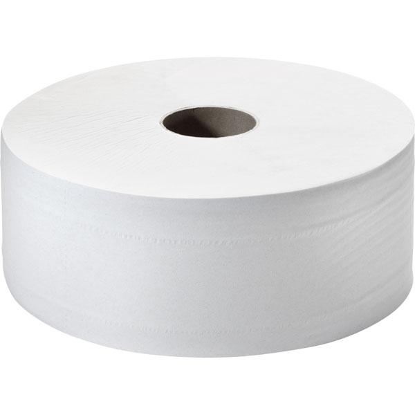 Toilettenpapier Tissue Großrolle weiß