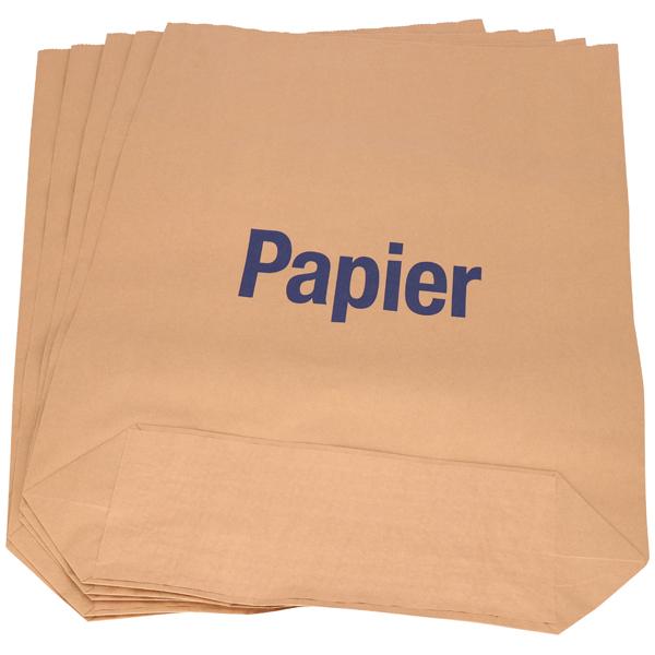 Deiss Papiersack 2-fach 120  - Motiv Papier