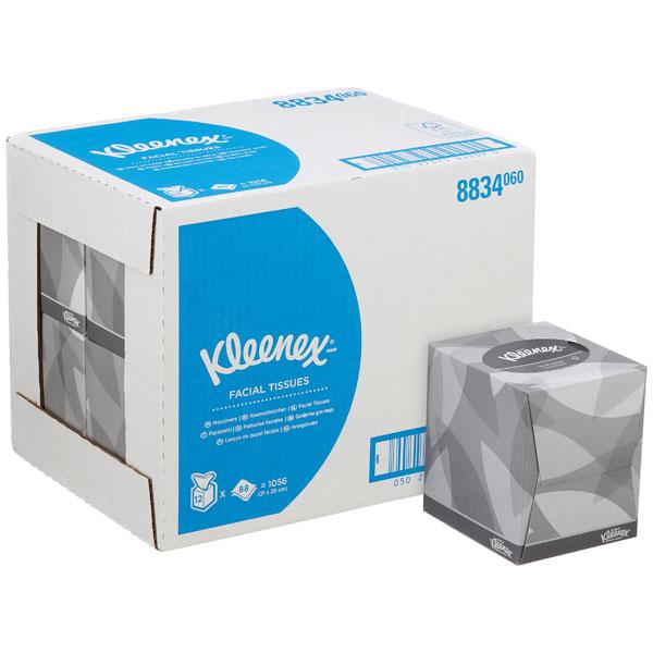 KLEENEX ® Kosmetiktuch Würfelbox