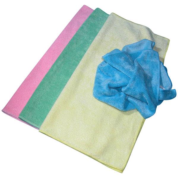 Glit Peeltuch stretch Microfasertuch blau