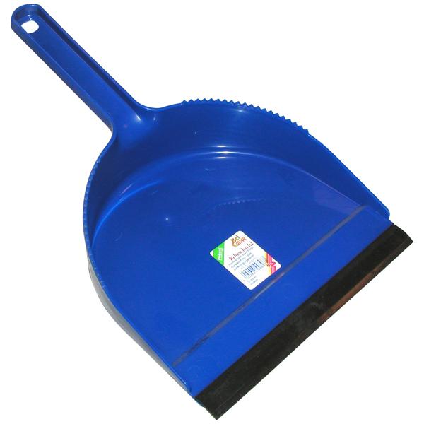 Kehrschaufel Plastik blau 21 cm