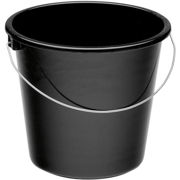 Plastikeimer rund 5l schwarz online kaufen - Verwendung 1