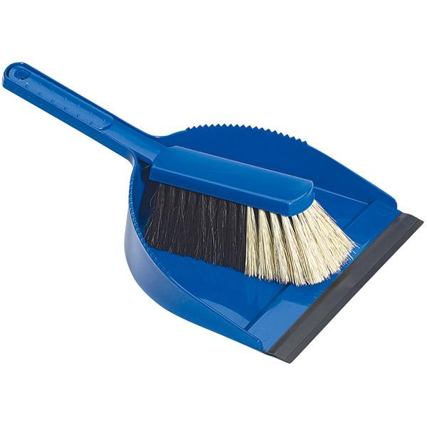 Profi-Kehrgarnitur blau Plastik