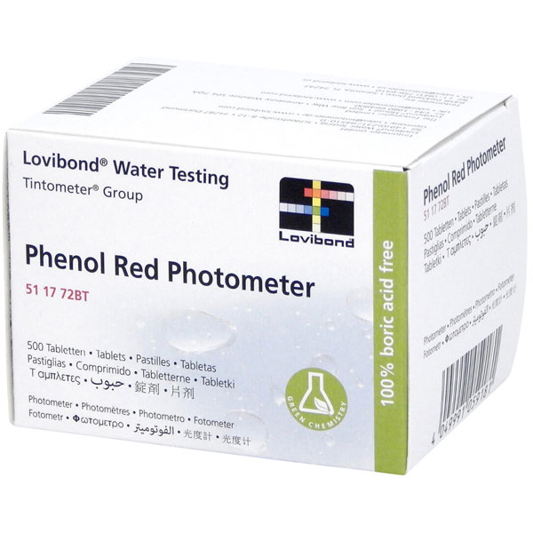Phenolrot pH Tabletten R175