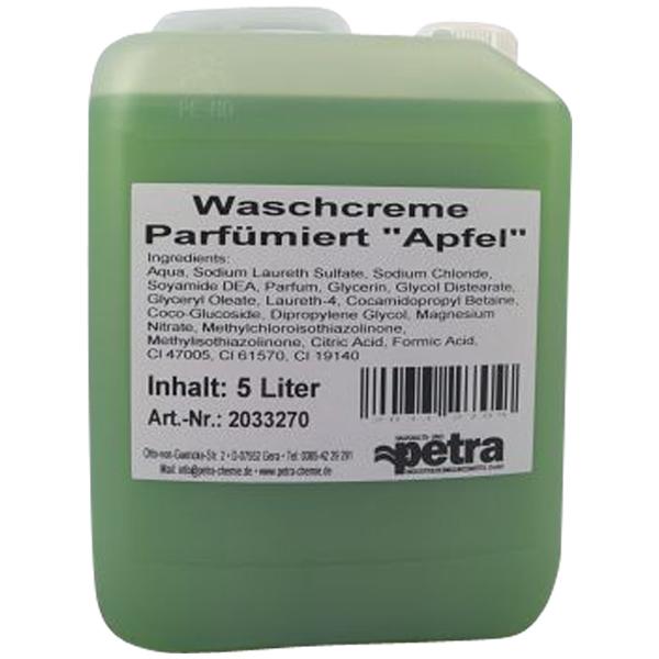 Petra Waschcreme Grüner Apfel 5 Liter