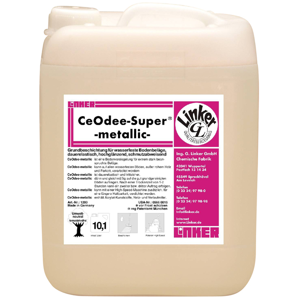 Linker CeoDee Super-Metallic Akrylatdispersion 10 Liter