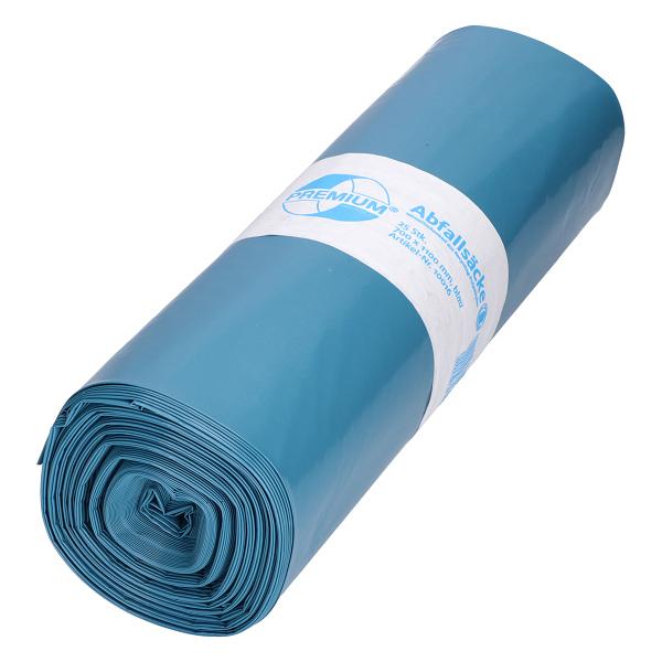 DEISS Premium® Abfallsäcke blau 120 Liter ( 25 Stück )