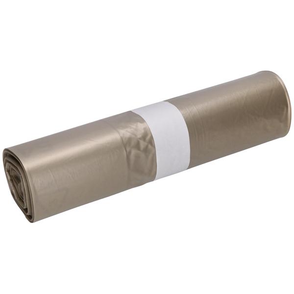 LDPE-Müllsäcke DEISS 70 L, transparent