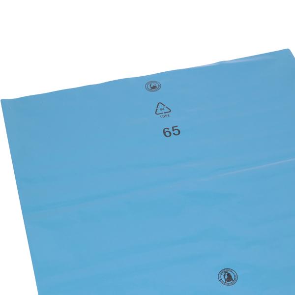 DEISS Abfallsäcke blau 140 Liter ( 150 Stück )