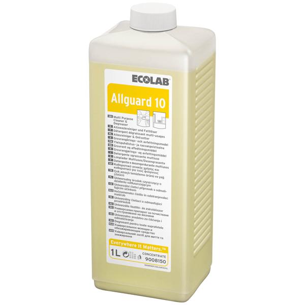 ECOLAB Allguard 10 Allzweckreiniger & Fettlöser 4 x 1 Liter
