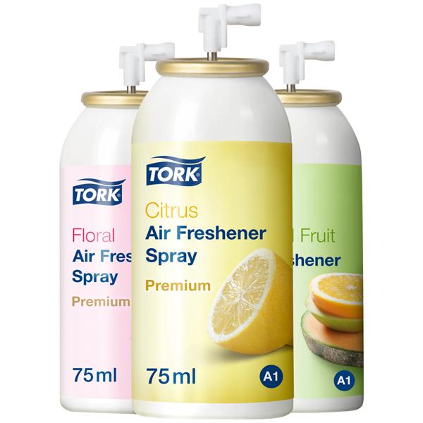 Tork Lufterfrischer Spray im Mixed Pack