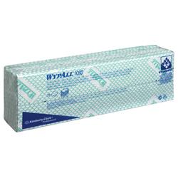 WypAll® X80 farbcodierte Reinigungstücher grün 7566