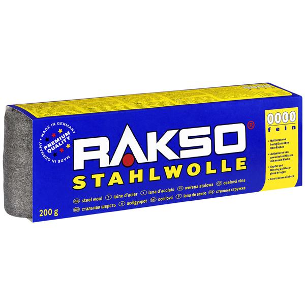 Rakso Stahlwolle Sorte 0000 (fein)