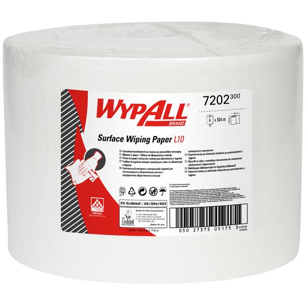 Wypall ® L10 Wischtücher - Großrolle