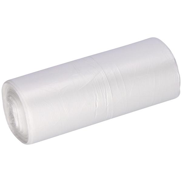 Müllbeutel aus HDPE DEISS 20 L, transparent