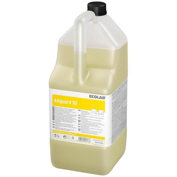 ECOLAB Allguard 10 Allzweckreiniger & Fettlöser 2 x 5 Liter
