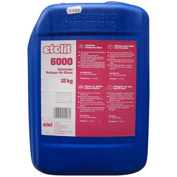 Etolit 6000 Gläserreiniger flüssig chlorfrei