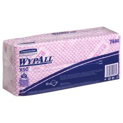 WypAll® X50 farbcodierte Reinigungstücher rot 7444