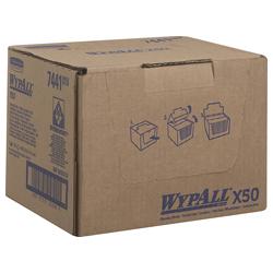 WypAll® X50 farbcodierte Reinigungstücher blau 7441