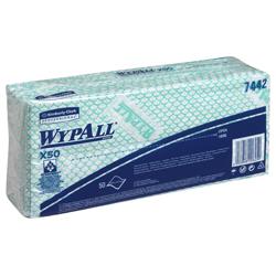 WypAll® X50 farbcodierte Reinigungstücher grün 7442