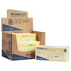 Vorschau: WypAll® X50 farbcodierte Reinigungstücher gelb 7443 online kaufen - Verwendung 2