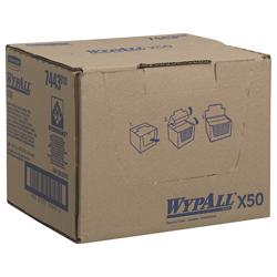 WypAll® X50 farbcodierte Reinigungstücher gelb 7443