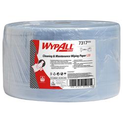 WypAll® Papierwischtücher L20 blau extralang 7317