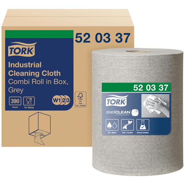 Tork Industrie Reinigungstuch W1 W2 W3