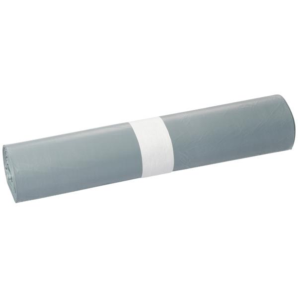 HDPE-Müllsäcke DEISS 120 L, grau