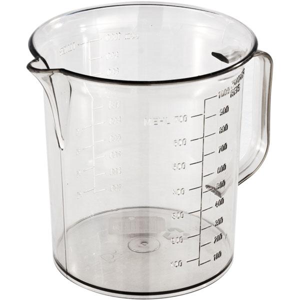 Meßbecher glasklar 1 l