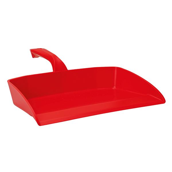 Vikan Kehrschaufel ohne Lippe 33 cm rot