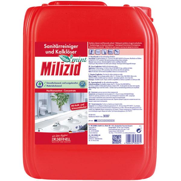 Dr.Schnell Milizid Mint Sanitärreiniger 10 Liter