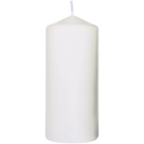 Duni Stumpenkerze 15 x 8 cm weiß