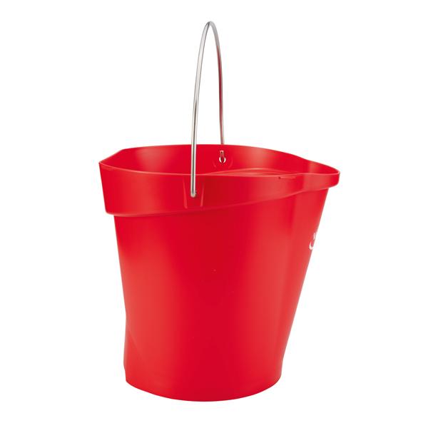Vikan Eimer 12 Liter rot