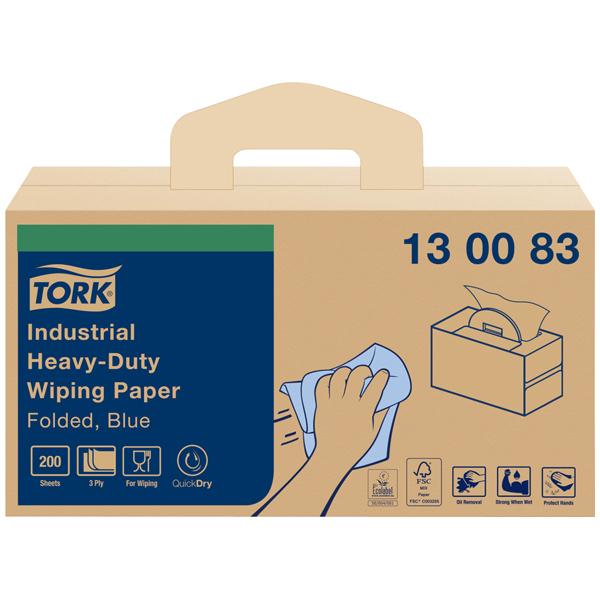 Tork extra starke Industrie Reinigungstücher W7 online kaufen - Verwendung 1