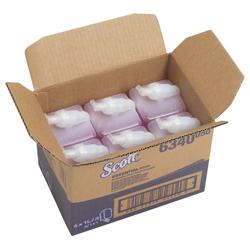 Scott SCOTT® Essential luxuriöse Schaumseife pink online kaufen - Verwendung 1