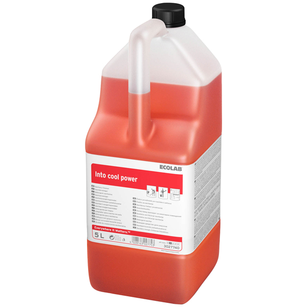 ECOLAB Into Cool Power Sanitärreiniger 5 Liter