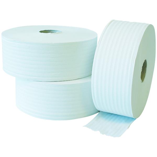 Toilettenpapier Krepp Jumbo natur