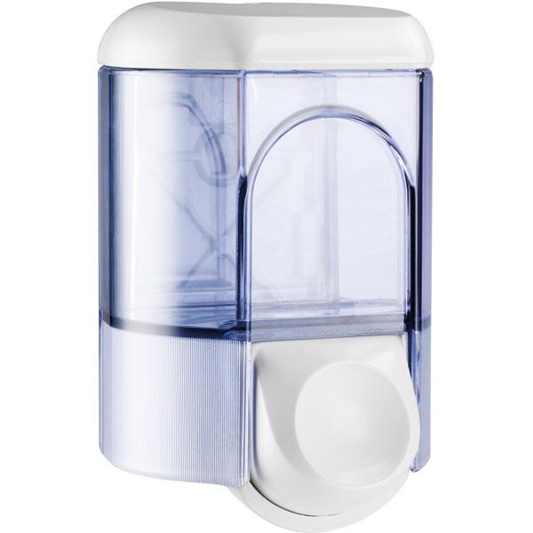 Seifenspender Clivia 35 weiß / transparent. 350ml